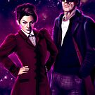 Missy and The Doctor  by batcatgraphics
