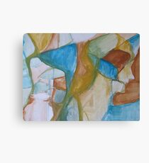 Raw Abstract Canvas Print