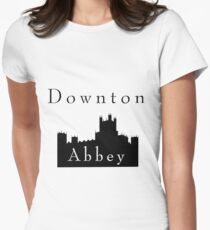 Downton Castle Womens Fitted T-Shirt