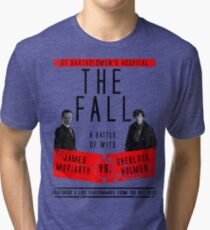 James Moriarty vs. Sherlock Holmes Tri-blend T-Shirt