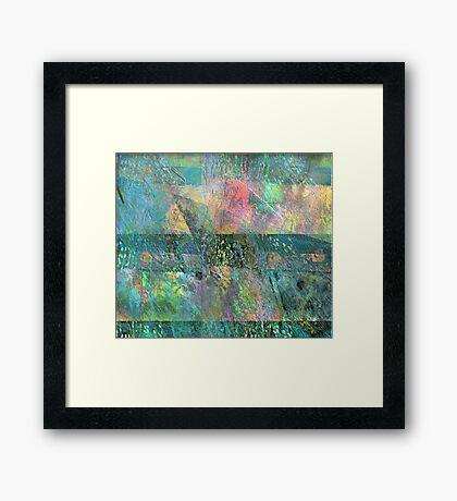 Swinging Towards Spring Framed Print