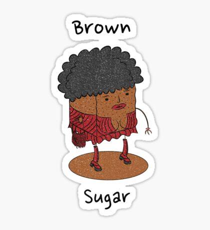 Brown Sugar Sticker