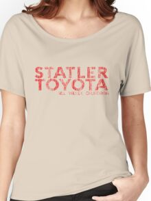 Distressed Statler Toyota Women's Relaxed Fit T-Shirt