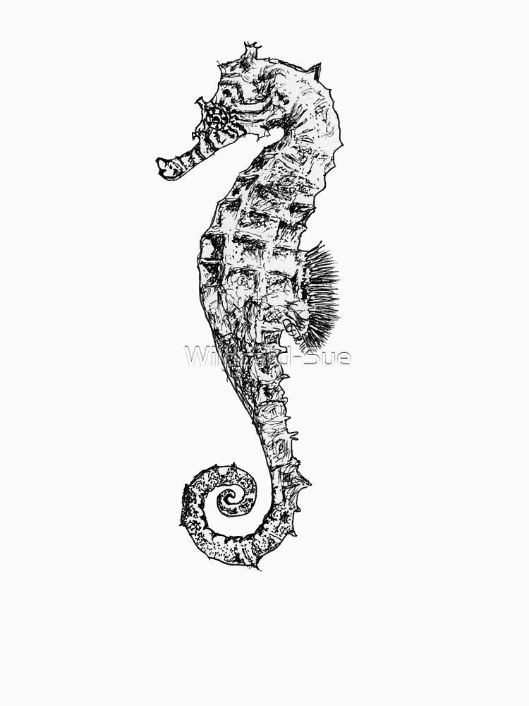 Melody the Seahorse by Wildcard-Sue