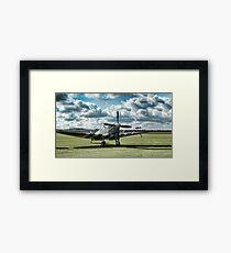 "Supermarine Spitfire ' A True Hero"" Framed Print"