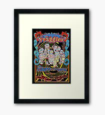 Fraggles - return to the rock tour poster Framed Print
