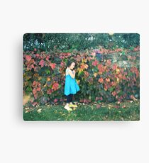 the eternal girl in my heart Canvas Print