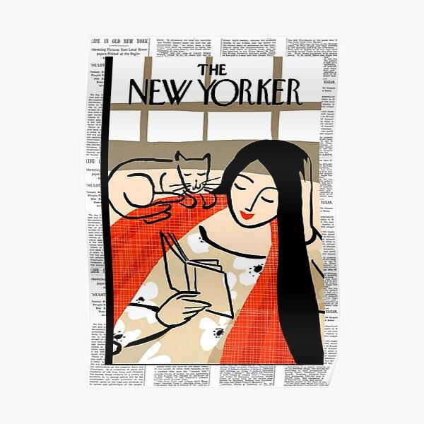New Yorker Cover Art Poster