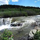 Lundbreck Falls by Darcy Overland