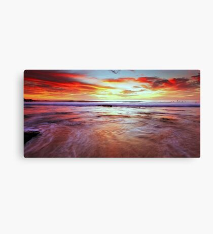 A Surfers' Moment Canvas Print