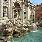 Trevi Fountain, Rome by Tom Gomez