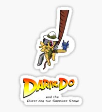 Daring Do and the Quest for the Sapphire Stone Sticker