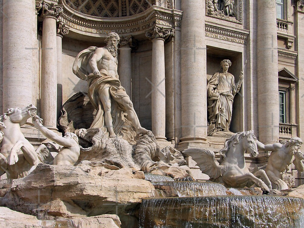 Trevi Fountain II by Tom Gomez