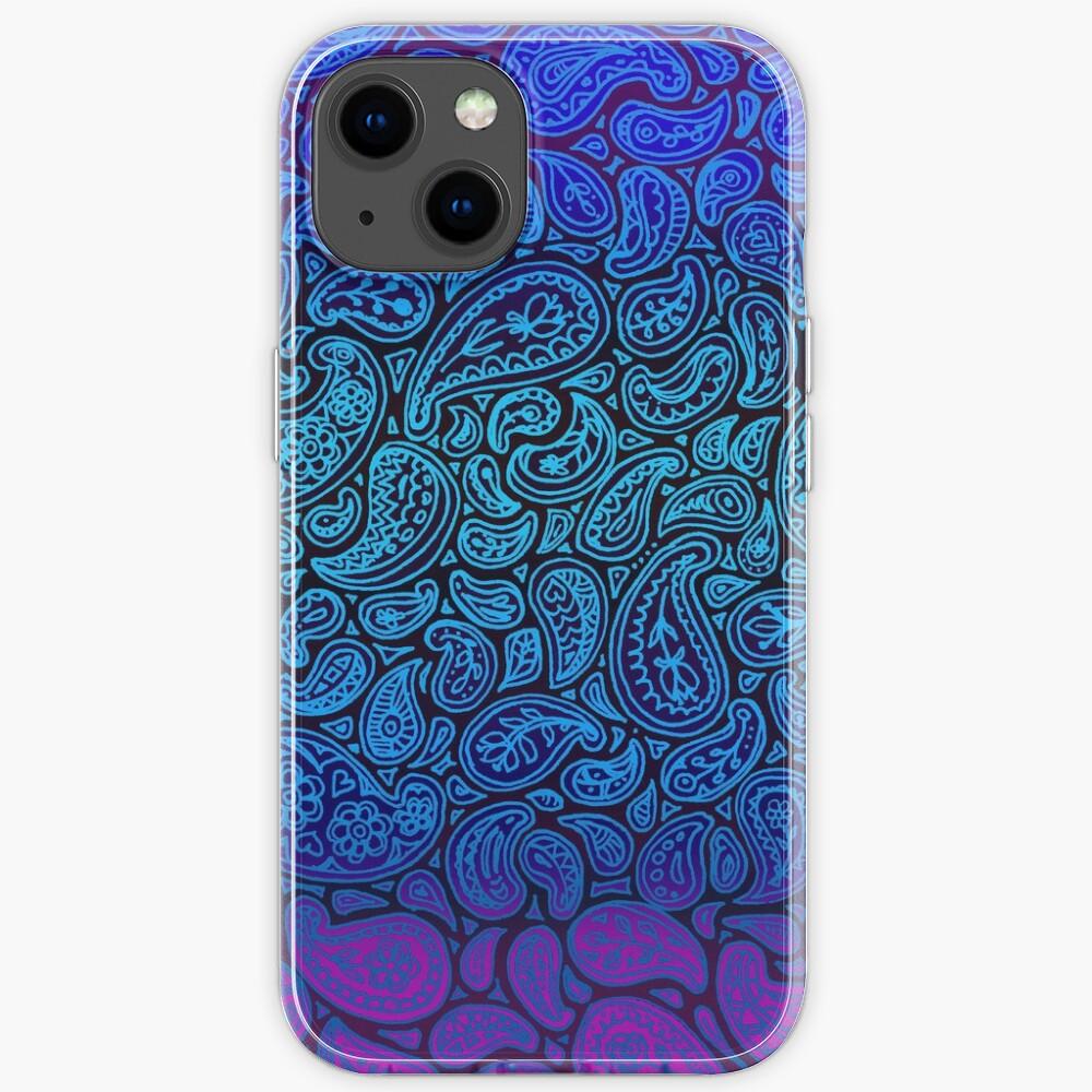 Purple Paisley iPhone Case