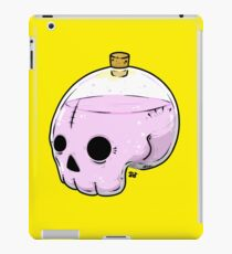 Bottle skull iPad Case/Skin