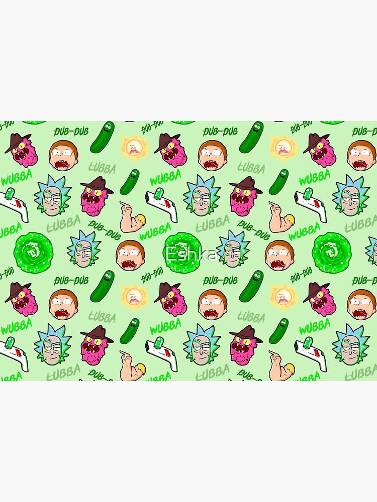 Rick and Morty by Eshka