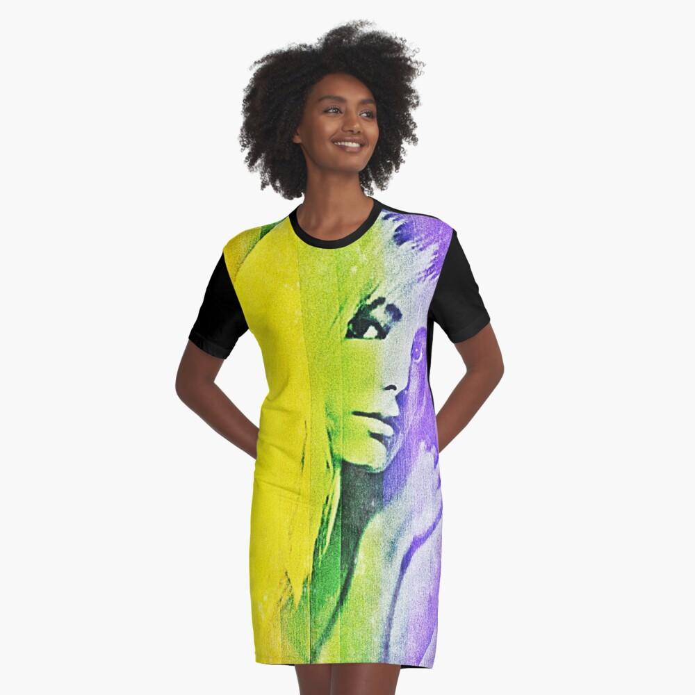Brite  Graphic T-Shirt Dress