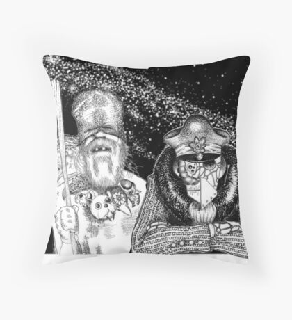 The Delivery Throw Pillow
