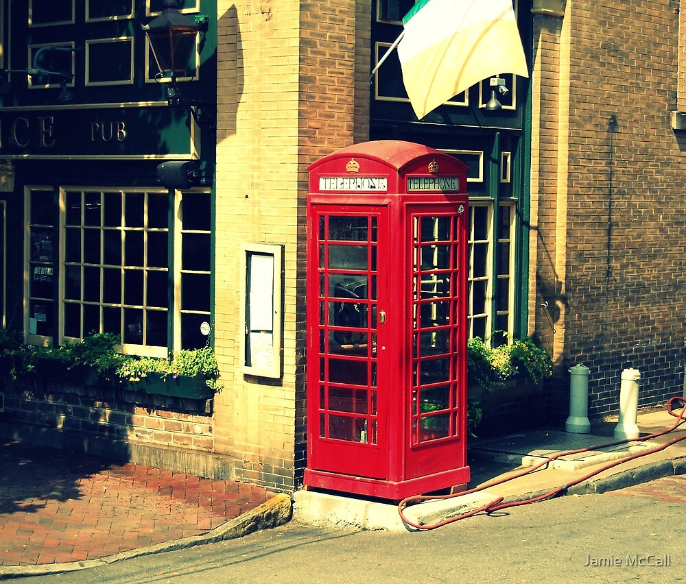 phonebooth by Jamie McCall