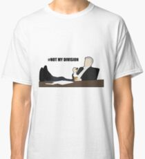 Not My Division - DI Lestrade (black text) Classic T-Shirt