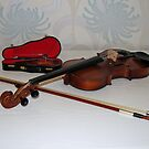 Little and Large - Two Violins von BlueMoonRose