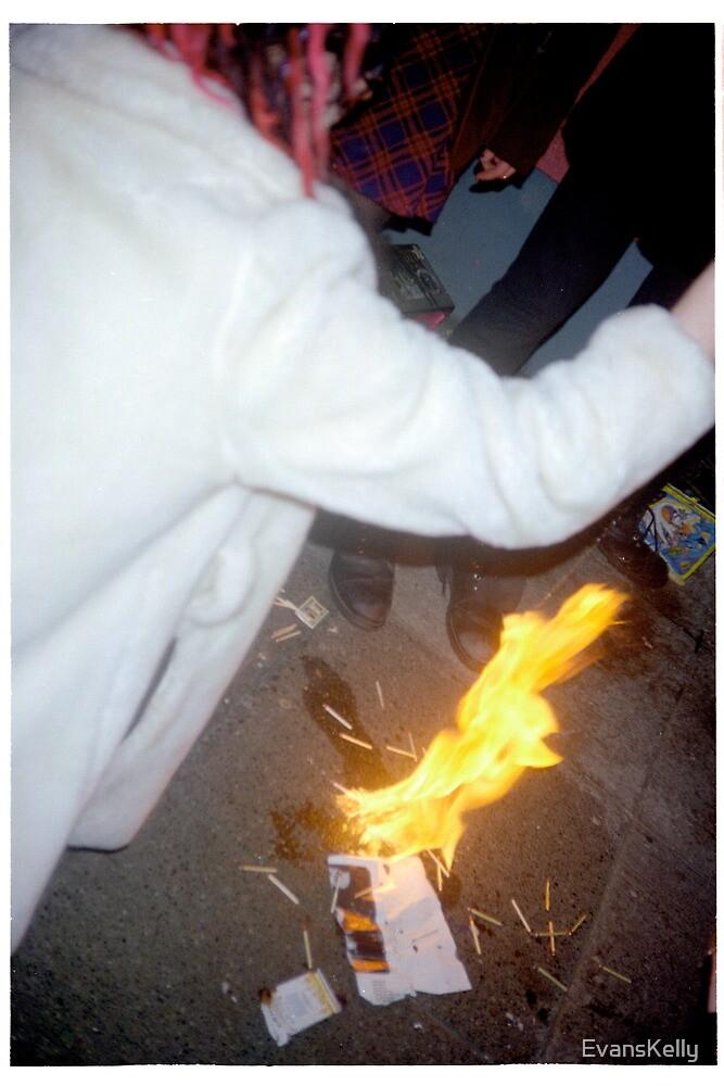 Freaky Urban Bonfire by EvansKelly