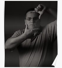 Self Portraits - Black and White Poster