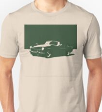 MGB, 1971 - British Racing Green on Cream T-Shirt