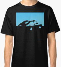 Saab 900, 1990 - Light blue on charcoal Classic T-Shirt