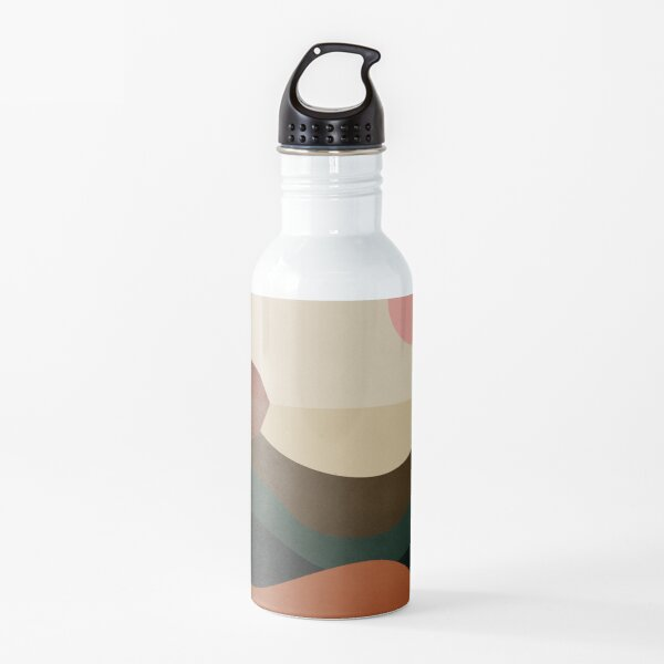 Canyon Lake Abstract Landscape Water Bottle