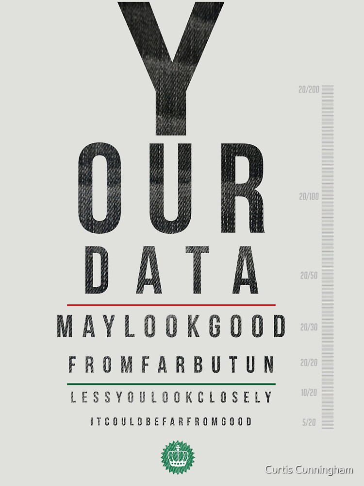 Your Data Looks Good From Far by cupacu