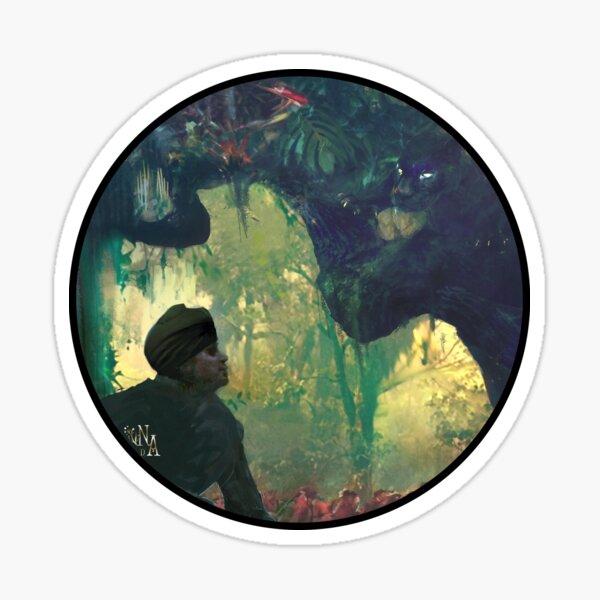 Mojunsha : Panthère-des-ténèbres Sticker