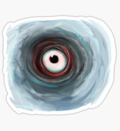 The Eye of the Storm Sticker