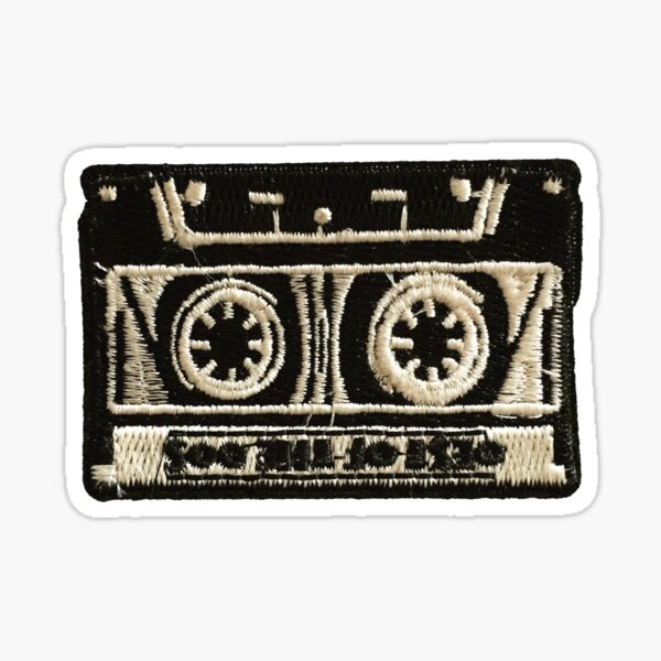 Retro Cassette Sticker