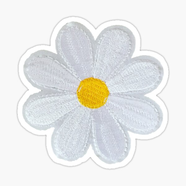 Daisy Patch Sticker