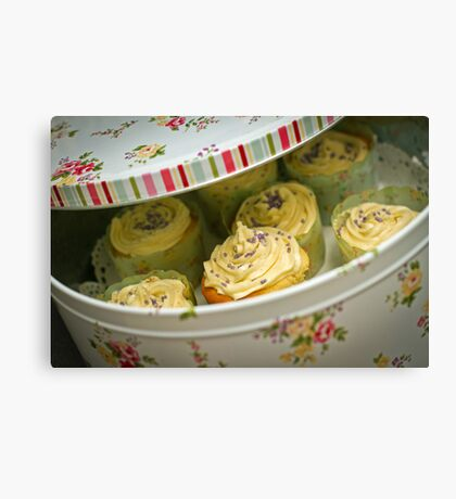 Tin Full of Yummyness (and Calories) Canvas Print