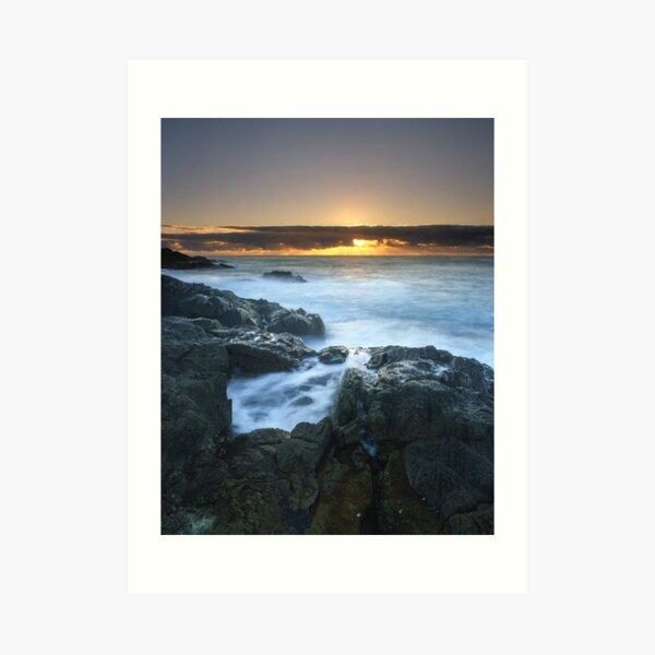 """The Rise of Day"" ∞ Mimosa Rocks, NSW - Australia Art Print"