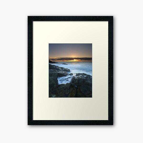 """The Rise of Day"" ∞ Mimosa Rocks, NSW - Australia Framed Art Print"