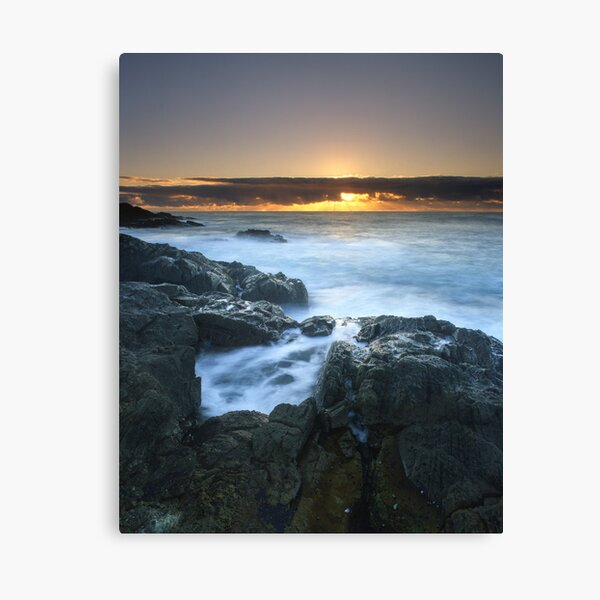 """The Rise of Day"" ∞ Mimosa Rocks, NSW - Australia Canvas Print"
