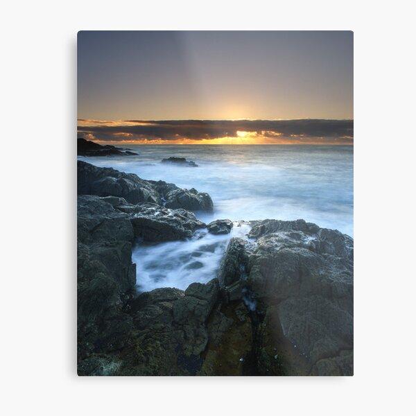 """The Rise of Day"" ∞ Mimosa Rocks, NSW - Australia Metal Print"