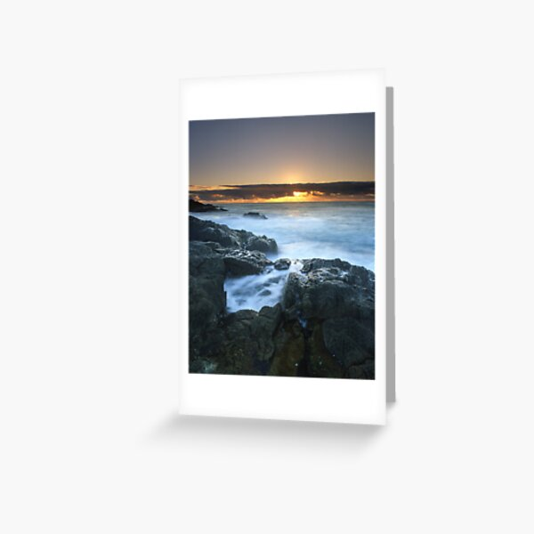 """""""The Rise of Day"""" ∞ Mimosa Rocks, NSW - Australia Greeting Card"""