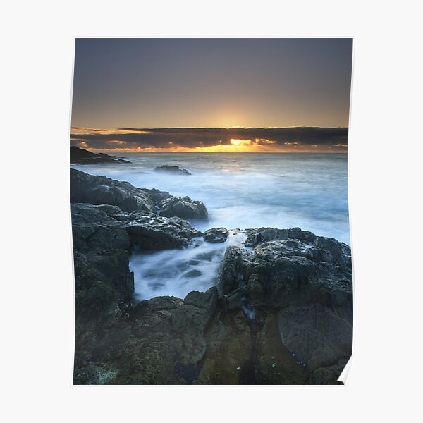"""""""The Rise of Day"""" ∞ Mimosa Rocks, NSW - Australia Poster"""