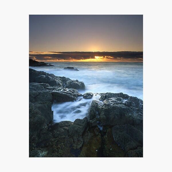 """""""The Rise of Day"""" ∞ Mimosa Rocks, NSW - Australia Photographic Print"""
