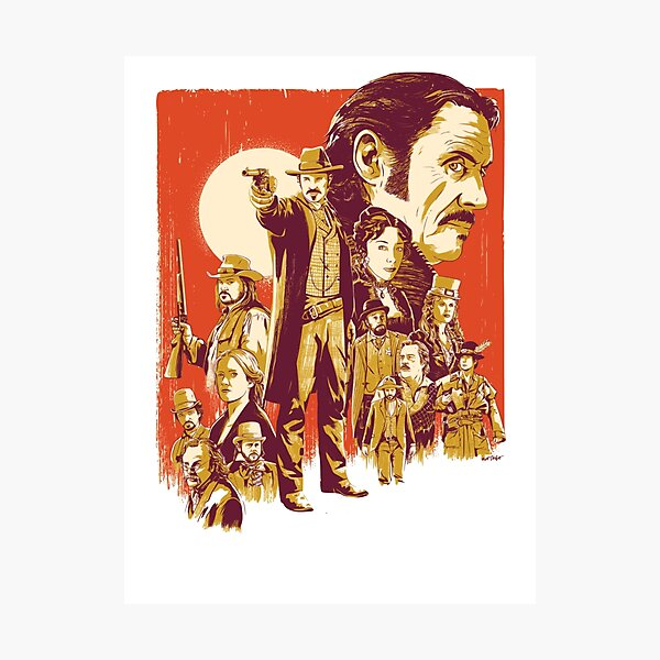 Deadwood - HBO Series Artwork Photographic Print