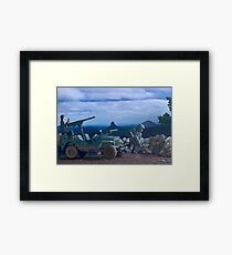 Willys Jeep Framed Print