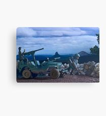 Willys Jeep Canvas Print
