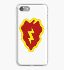 25th Infantry Division Insignia iPhone Case/Skin