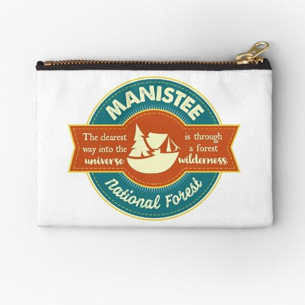 Manistee National Forest Shirt, Sticker, Mug (CC) Zipper Pouch