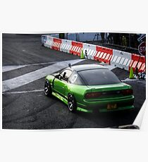 Nissan 180sx S13 Poster