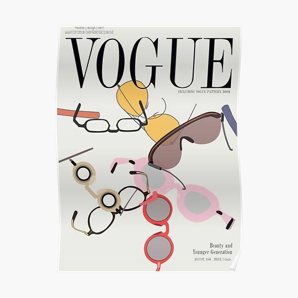 Retro Vogue magazine cover Poster